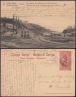 """Congo Belge - EP Vue 30C Rouge Voyagé - Nº82 Panda """"Vue Générale Des Installations De L'Union Minière """" (DD) DC1097 - Belgian Congo - Other"""