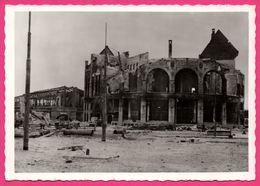 Cp Dentelée - Verwoest Rotterdam 1940 - No F. Loos Met Station Hofplein - Gebr. SPANJERSBERG - SPARO - Rotterdam