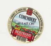 ETIQUETTE DE CAMEMBERT BERTRAND LA GRAVERIE/BENY BOCAGE 14 CD - Fromage