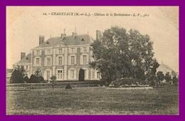 Chanzeaux * Chateau De Berthelotière  ( Scan Recto Et Verso ) - France