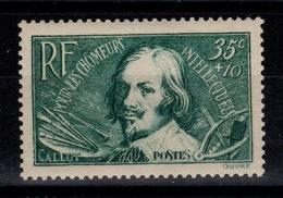 YV 381 N** Chomeurs Intellectuels Cote 4,50 Euros - Frankreich