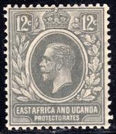 East Africa & Uganda 1921 12c SG69 - Unmounted Mint - Kenya, Uganda & Tanganyika