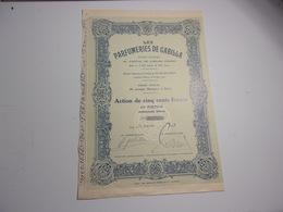 LES PARFUMERIES DE GABILLA (1929) - Non Classés