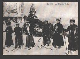 Ski - En 1900 - Les Elégantes Du Ski - Les Houches 1986 - Winter Sports