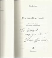 Dédicace De Iain Levison - Une Canaille Et Demie - Livres, BD, Revues