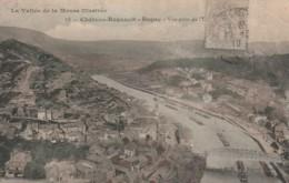 *** 08  ***  Château Regnault Bogny Vue Générale Colorisée Péniches TB - Andere Gemeenten
