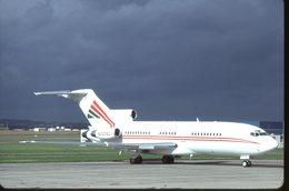SLIDE / AVION / AIRCRAFT   KODAK  ORIGINAL      B 727 VIP - Diapositives