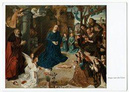(031..875) Hugo Van Der Goes, Anbetung Der Hirten - Malerei & Gemälde