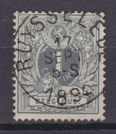 N° 43  RUYSSELEDE - 1869-1888 Lying Lion