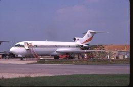 SLIDE / AVION / AIRCRAFT   KODAK  ORIGINAL      B 727 VIP SAOUDIAN - Diapositives