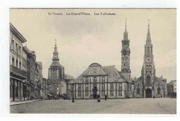 Sint-Truiden   St-Trond. -La Grand'Place. Les 3 Clochers - Sint-Truiden