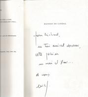 Dédicace De Eric Fottorino - Baisers De Cinéma - Livres, BD, Revues