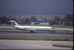 SLIDE / AVION / AIRCRAFT   KODAK  ORIGINAL     USAF  DC 9  10881 - Diapositives