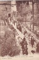 Corrèze - Aubazine - Procession Dans Les Jardins Du Couvent - Autres Communes
