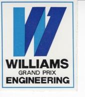 Williams Grand Prix Engineering - Autocollant / Adesivi / Aufkleber / Stickers - Autocollants