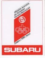 Subaru - Calgary ° 1988 ° Seoul - Autocollant / Adesivi / Aufkleber / Stickers - Autocollants