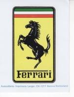 Ferrari - Autocollant / Adesivi / Aufkleber / Stickers - Autocollants