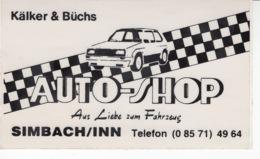 Kälker & Büchs - Auto-shop - Aus Liebe Zum Fartzeug - Autocollant / Adesivi / Aufkleber / Stickers - Autocollants
