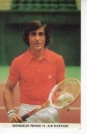 Monsieur Tennis - Ilie Nastase - Autocollant / Adesivi / Aufkleber / Stickers - Autocollants