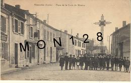 VEAUCHE (42)  PLACE DE LA CROIX DE MISSION - Frankrijk
