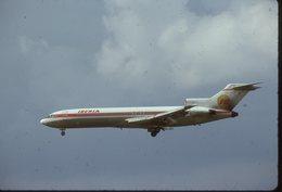 SLIDE / AVION / AIRCRAFT   KODAK  ORIGINAL     IBERIA  B 727  EC-CFH - Diapositives