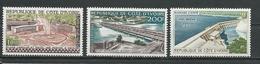 COTE IVOIRE Scott C14-C16 Yvert PA18-PA20  (3) ** Cote 23,00 $ 1960 - Côte D'Ivoire (1960-...)