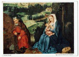 (031..877) Gerard David, Rast Auf Der Flucht Nach Ägypten - Malerei & Gemälde