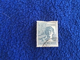 """Germany: Unidentified Date Worker"""" , Canceled & Hinged - Germany"""
