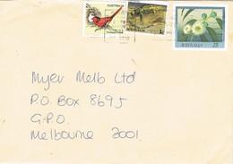 30738. Entero Postal PRESTON  (australia) 1978. Flowers, Fleurs, Remite FITZROY NORTH - Enteros Postales