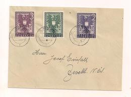 Brief Ohne Inhalt - 18.12.1943 Nach Zwettl NÖ - Gebraucht