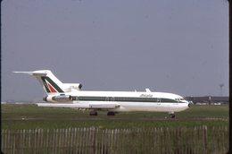 SLIDE / AVION / AIRCRAFT   KODAK  ORIGINAL     ALITALIA  B 727  I-DIRB - Diapositives