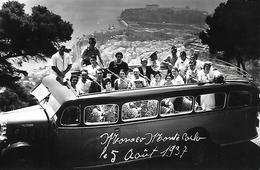 06)   MONACO  MONTECARLO  - Le 5 Aout 1937  (  Autobus  ) - Monte-Carlo