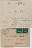 VP13.621 - 1910 - Lettre De Mr Joseph à LAVELANET Pour Mr DUBOIS Soldat à TOULOUSE - Récit - Manuscrits