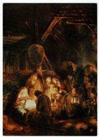 (031..878) Rembrandt, Harmensz Van Rijn, Anbetung Der Hirten - Malerei & Gemälde
