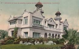 HOLLYWOOD , California , 1911 ; Paul De Longpre Home - Autres