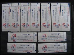 TB Série De 11 Carnets N° 2376 - C12A,  Neufs XX. - Carnets