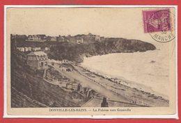 50 - DONVILLE Les BAINS -- La Falaise Vers Granville - France