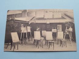 """Institut Des """" MINIMES """" à Louvain - Salle De Peinture Et De Dessin ( Thill ) Anno 1925 ( Zie Foto Details ) ! - Leuven"""