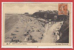 50 - DONVILLE Les BAINS -- La Plage Normande - France