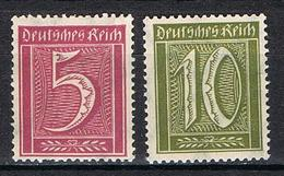 ALLEMAGNE EMPIRE 160-161** - Alemania