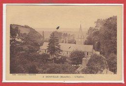 50 - DONVILLE Les BAINS -- L'Eglise - France