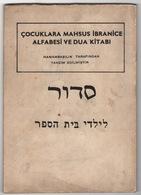 HEBREW ALPHABET AND PRAYER BOOK - Livres, BD, Revues