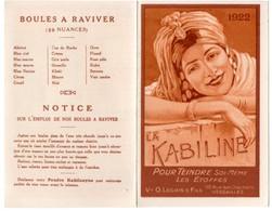 Petit Calendrier De Poche 1922. La Kabiline, Boules à Raviver. - Calendriers