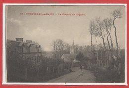 50 - DONVILLE Les BAINS -- Le Chemin De L'Eglise - France