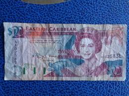 EASTERN CARIBBEAN 20 DOLLARS - Caraïbes Orientales