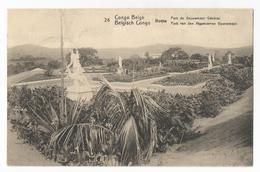 Belgisch Congo Belge Parc Du Gouverneur Général Carte Postale Ancienne EP Oude Postkaart - Belgian Congo - Other