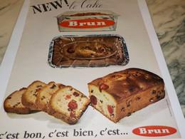 ANCIENNE PUBLICITE C EST BON C EST BIEN C EST LE CAKE BRUN 1965 - Affiches