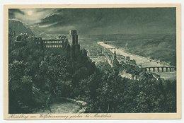 Postal Stationery Germany 1932 Heidelberg - Bridge - Philatelic Day - Bruggen