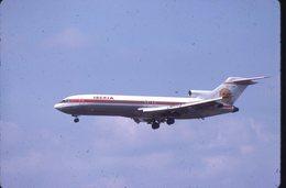 SLIDE / AVION / AIRCRAFT   KODAK  ORIGINAL    IBERIA  B 727  EC-CBK - Diapositives