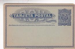 ENTERO ENTIER POSTAL STATIONERI URUGUAY 2 CENTIMOS CIRCA 1890s- BLEUP - Uruguay